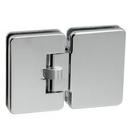 Automatický pružinový pánt na sklenené dvere CT - CER403S - OC - Chróm lesklý