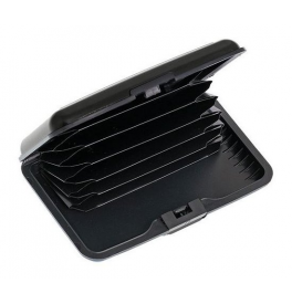 Aluma wallet púzdro na doklady čierne