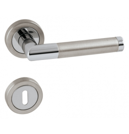 PRADO - R 792 - OC / BN - Polished chrome / brushed stainless steel