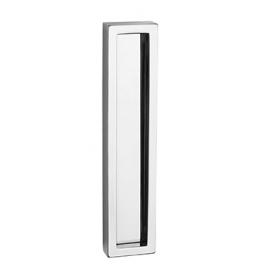 Mušle na skleněné posuvné dveře PAMAR 1158Z - OC - Chrom lesklý