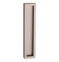 Mušla na sklenené posuvné dvere PAMAR 1158Z - NP - Nikel perla