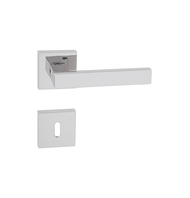 Handle TUPAI SQUARE - HR 2275Q - OC - Polished chrome