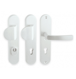 Security handle LINIA BETA - F1 - Anodized natural