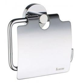 Posiadacz papier toaletowy z pokrywą SMEDBO HOME - Chrom błyszczący
