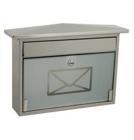 Mailbox X-FEST ROBIN inox