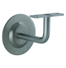Handrail Bracket 0120 - BN - Brushed stainless steel