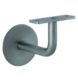 Handrail Bracket 0130 - BN - Brushed stainless steel