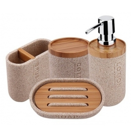 Set of bathroom accessories NIMCO KORA KO 24000SET-86