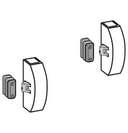 DORMA PHX 07 F - Horné a dolné zaistenie s bočnou západkou