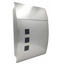 Poštová schránka X-FEST DUSTIN nerez