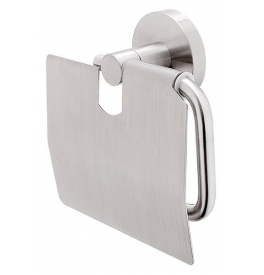 Držiak na toaletný papier s krytom NIMCO UNIX NEREZ UNM 13055B-10