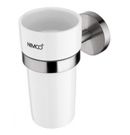 Cup for toothbrushs NIMCO UNIX INOX UNM 13058KN-10