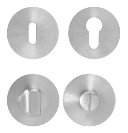 MP - Rosette - R 3SM - BN - Brushed stainless steel