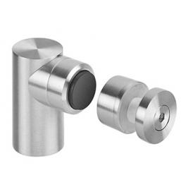 Magnetic door stopper for glass JNF IN.13.187