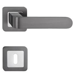 Handle METAL-BUD RIO - HR - OC / G - Polished chrome / graphite