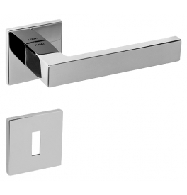 Handle SQUARE - HR 2275 5S - OC - Polished chrome