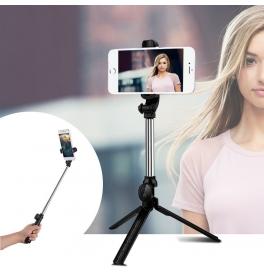 Selfie tyč so statívom