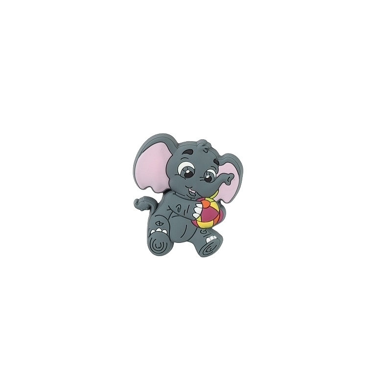 Children furniture handle ELEPHANT WITH BALL