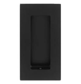 Mušle na posuvné dveře TUPAI 1696 - Černá matná