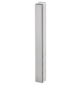 Shell for glass sliding door JNF IN.16.554.A - Brushed stainless steel