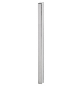 Shell for glass sliding door JNF IN.16.555.A - Brushed stainless steel