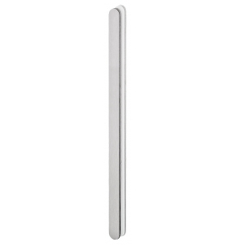 Shell for glass sliding door JNF IN.16.557.A - Brushed stainless steel