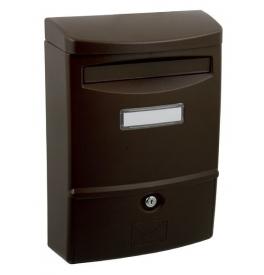 Poštová schránka AS2 - Hnedá