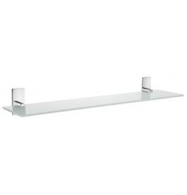 Glass shelf with brackets SMEDBO POOL ZK347