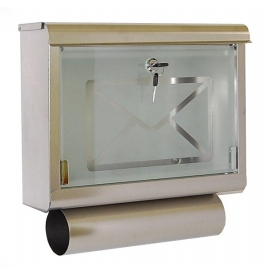 Mailbox X-FEST LEO inox