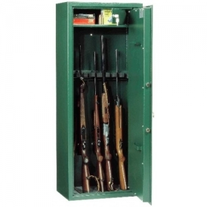 Cabinets and safes for guns